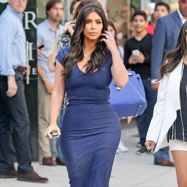 Kim Kardashian's clothes are too 'tight'