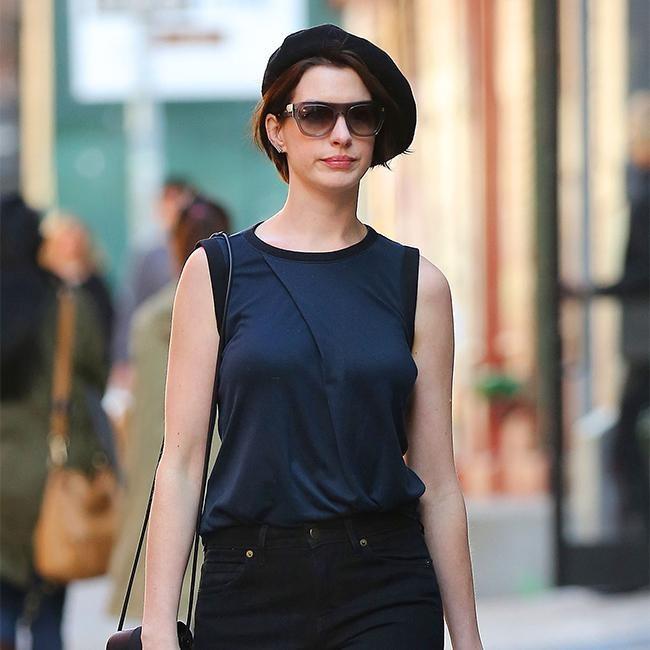 Parisian Anne Hathaway