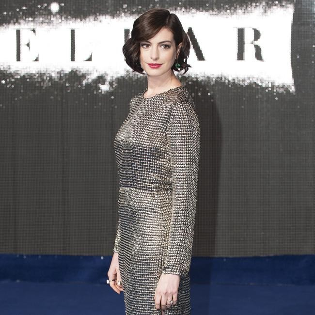 Anne Hathaway Set For The Burning Woman