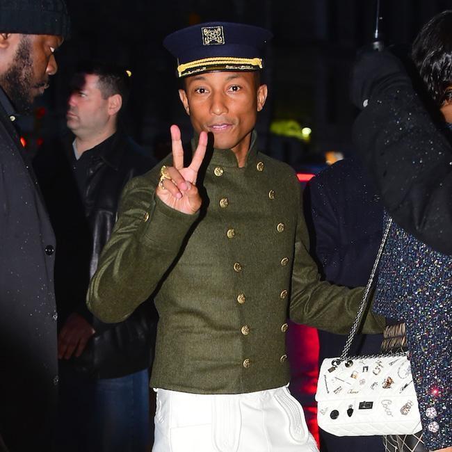 Pharrell Williams dresses up for Chanel bba4776c835