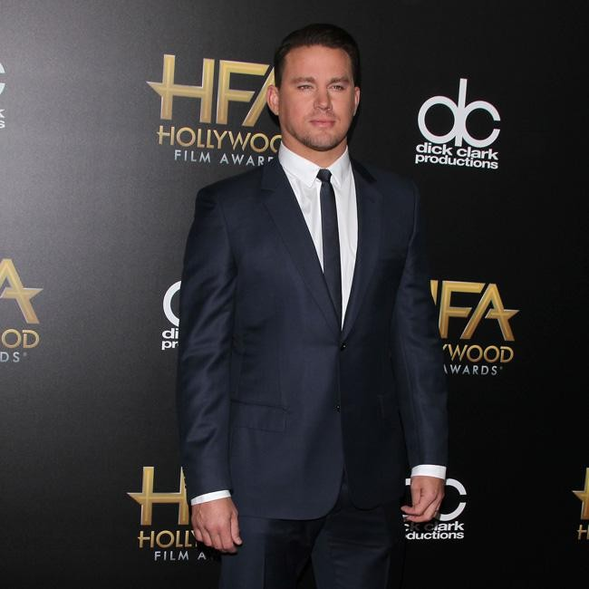 Channing tatum smoulders in suit for Jay z liquor price