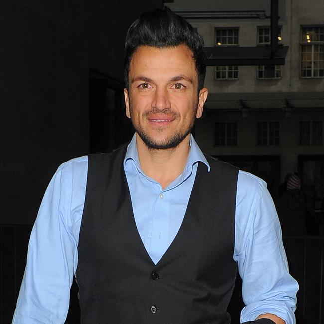 Peter Andre: I want my son to be a scientist