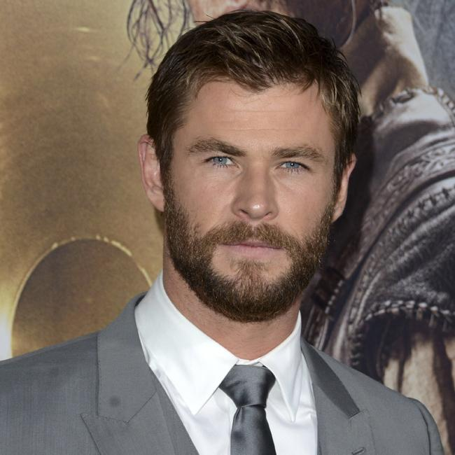 Chris Hemsworth steals spotlight with trendy beard Mark Wahlberg Wife