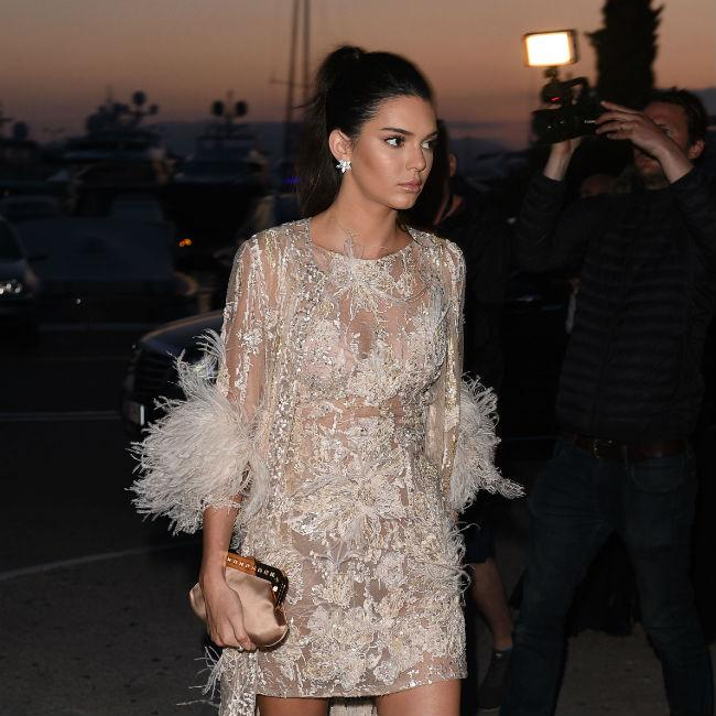 Kendall Jenner tricked by pranksters in Cannes