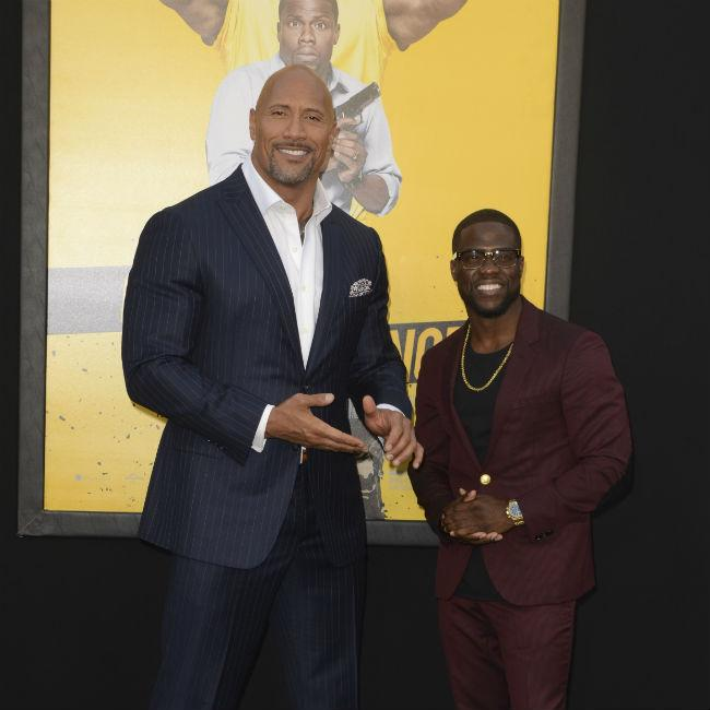 Dwayne Johnson Studied Kevin Hart Before Shooting Central