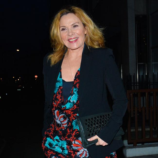 Kim Cattrall reflected on life at night