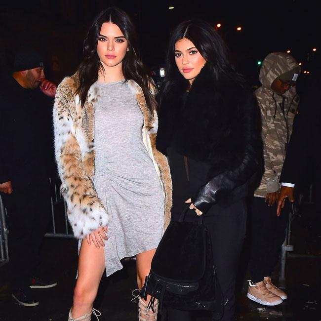 Kendall and Kylie Jenner's shower prank