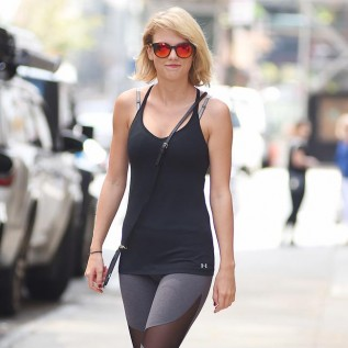 Taylor Swift tones up at the gym ahead of jury service