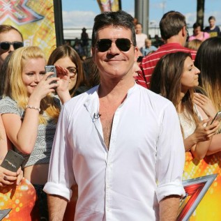 Simon Cowell teases Andrew Lloyd Webber on The X Factor