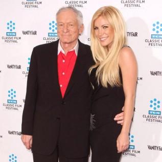 Hugh Hefner parties for last time at Playboy Mansion