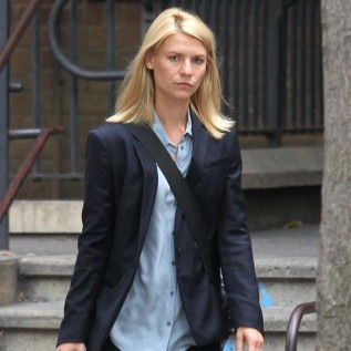 Claire Danes stern on Homeland