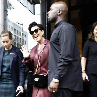Kris Jenner and Corey Gamble live it up in Paris