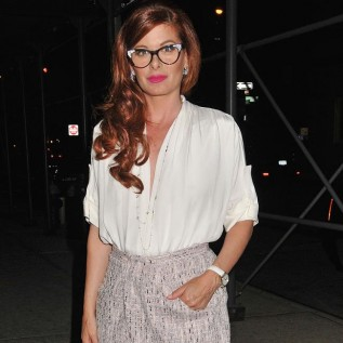 Debra Messing: I want to do a 'naughty' Will and Grace reunion