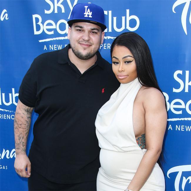 Rob Kardashian and Blac Chyna expecting baby girl