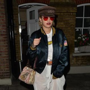 Party animal Rita Ora
