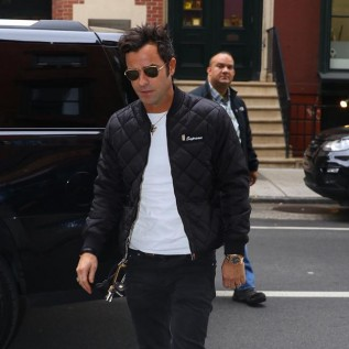 Justin Theroux: 'Marriage has calmed me'