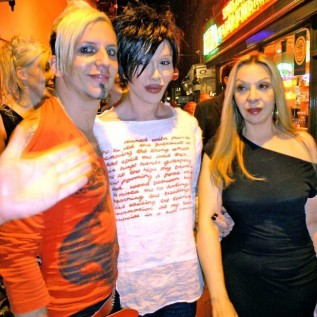 Pete Burns' two lovers