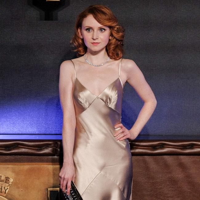 Sexy silk gown