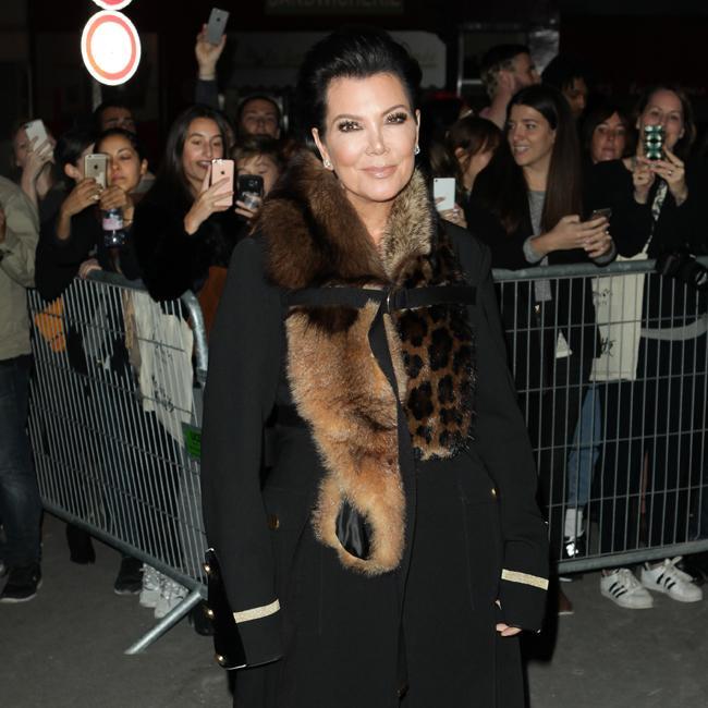Kris Jenner has 'tramp stamp'