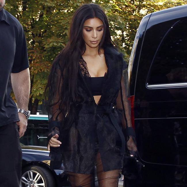 Kim Kardashian West suffers anxiety