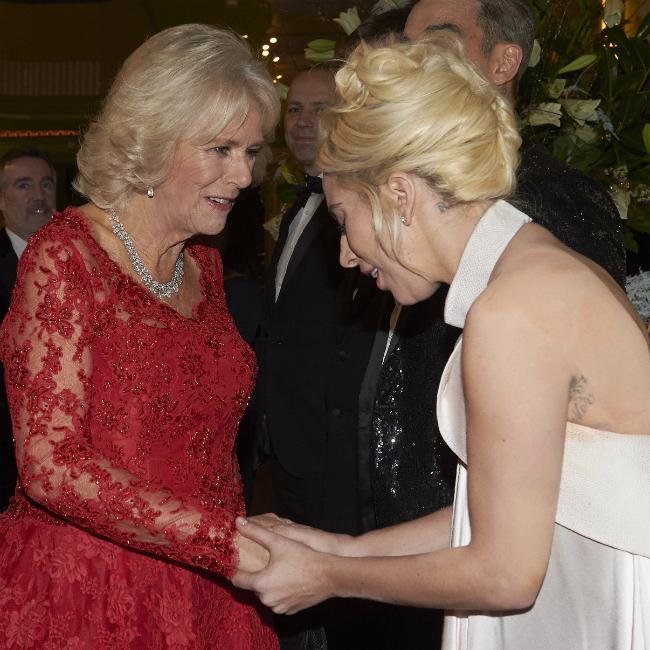Camilla tells Lady Gaga they have same nickname