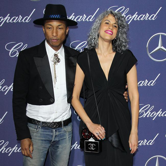 Pharrell Williams And Mimi Valdes Rock Palm Springs Film
