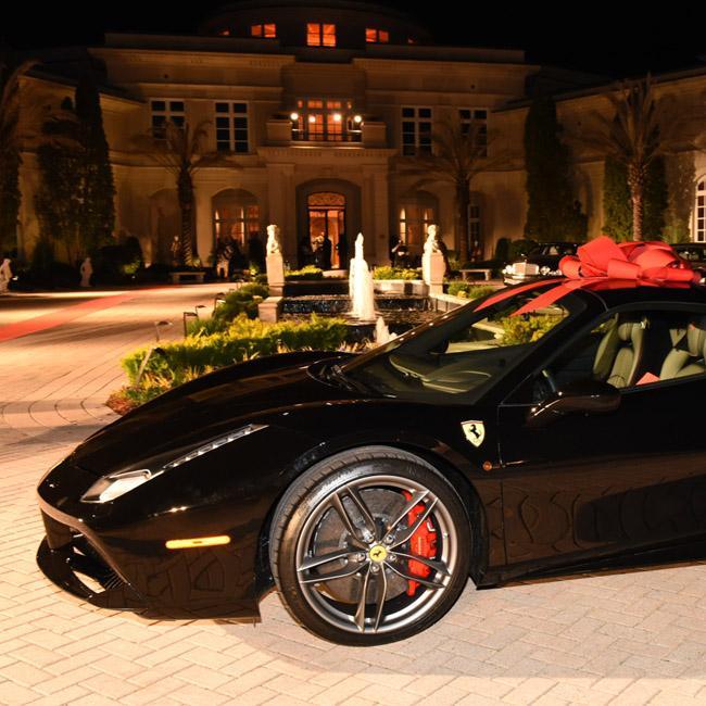 Rick Ross Gifted Brand New Ferrari 488 Spider For Birthday