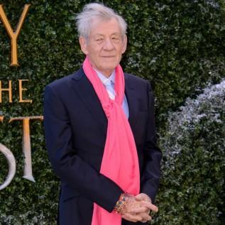 Sir Ian McKellen looks his age