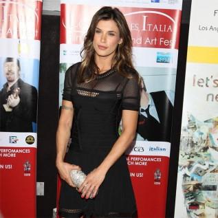 Elisabetta Canalis congratulates ex-George Clooney on baby news