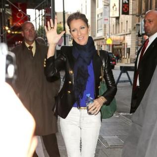 Celine Dion can't shop