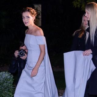 Emma Watson's dress helpers