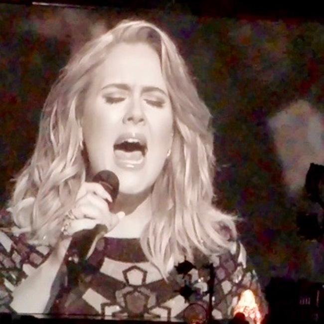 Adele's George Michael tribute