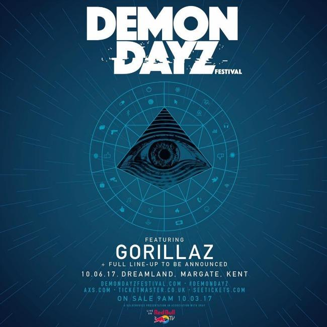 Gorillaz announce comeback show with new festival