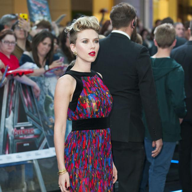 Scarlett Johansson Grounded By Working With Daughter