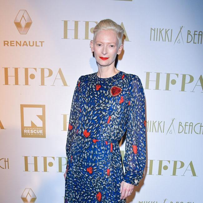 Tilda Swinton's quirky gown
