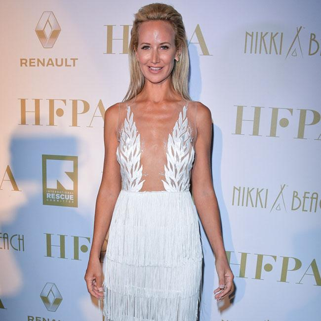 Lady Victoria Hervey' flashes the flesh