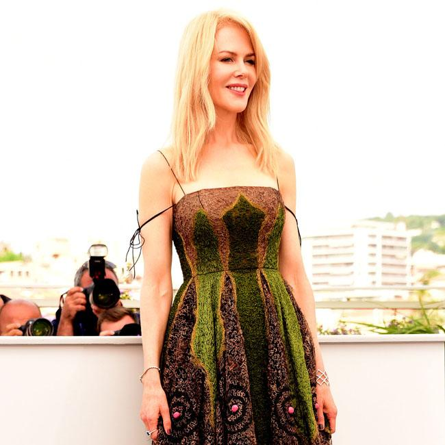 Nicole Kidman's garden-themed gown