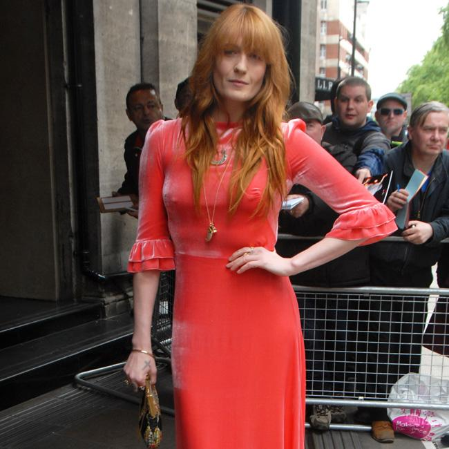 Florence Welch rocks vibrant look to The Ivors