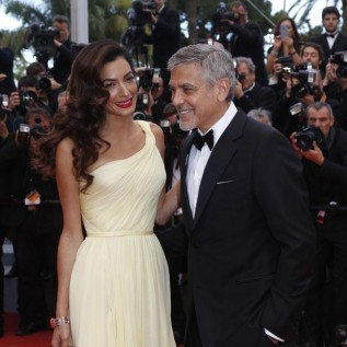 Amal Clooney to give birth 'any day now'