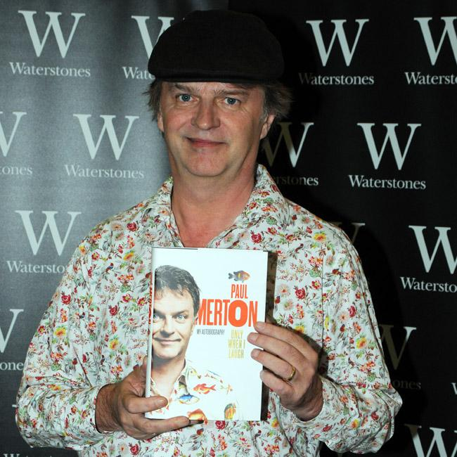 Paul Merton's writing a script for a film