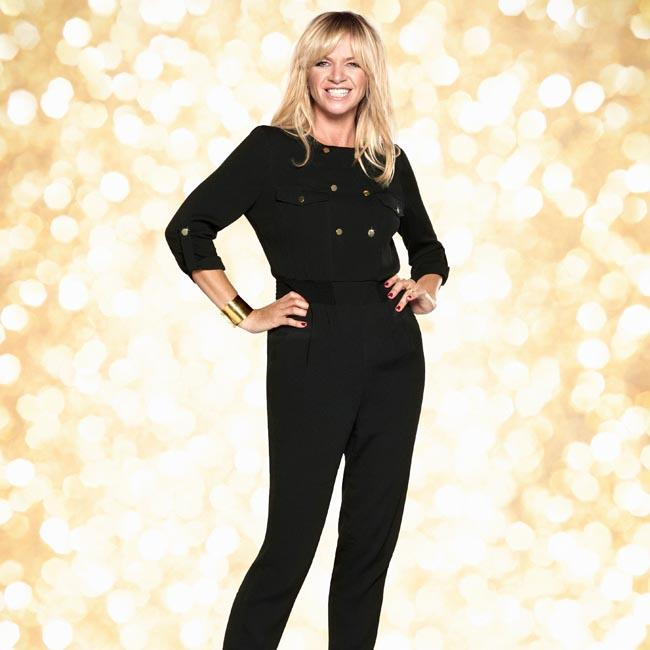 Zoe Ball's boyfriend is laid to rest