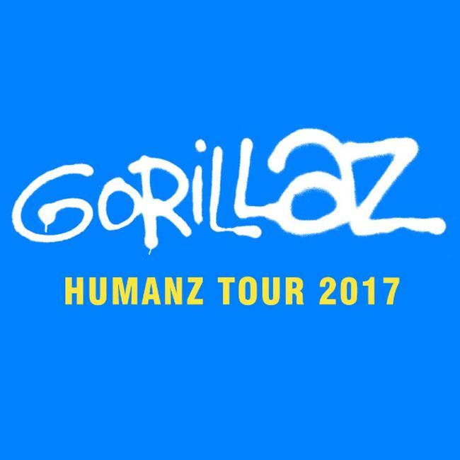 Gorillaz announce UK tour