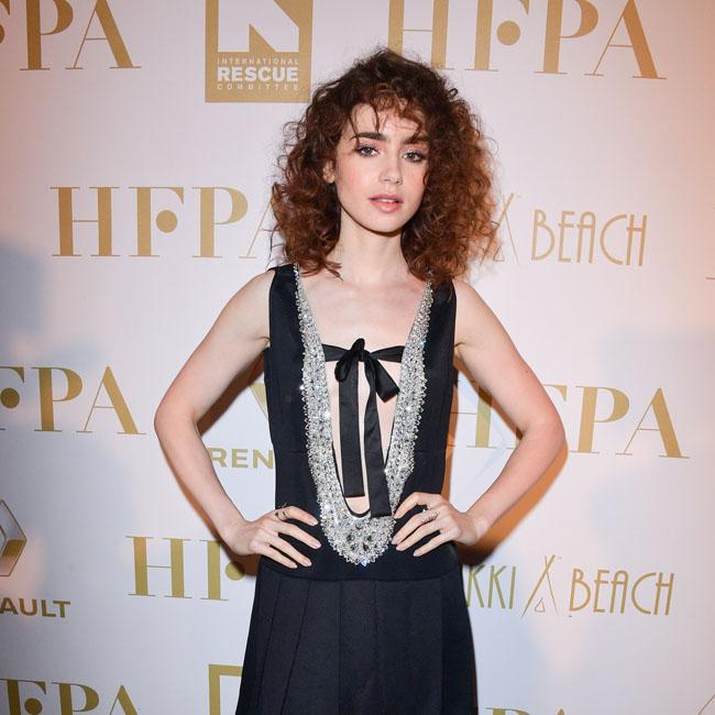 Lily Collins steals the show at Nikki Beach