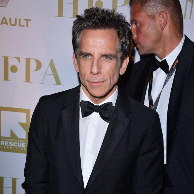 Ben Stiller not afraid to show grey hair