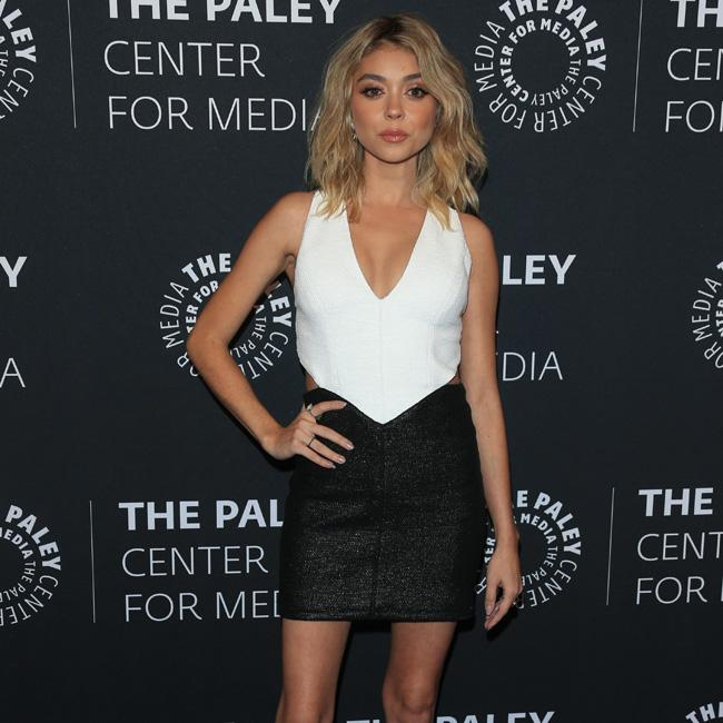 Sarah Hyland flashes the flesh at Dirty Dancing premiere