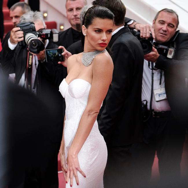 Adriana Lima steals the show at Cannes Film Festival