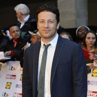 Jamie Oliver struggles with family meals