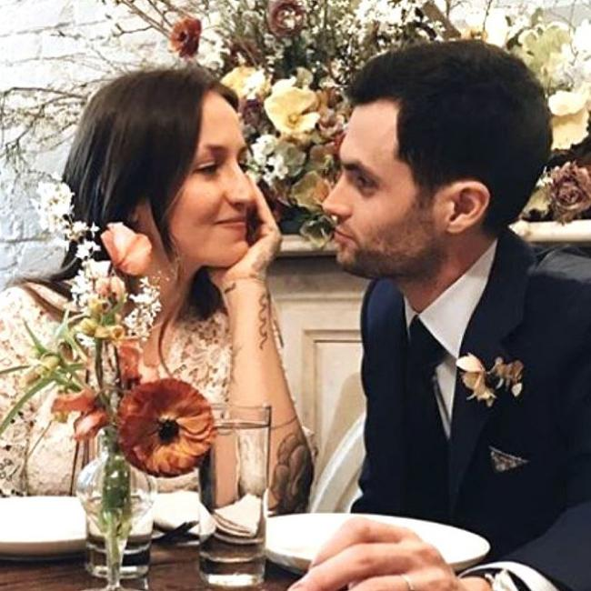 Penn Badgley has got married – again