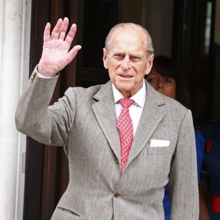 Prince Philip makes first outing since hospitalisation