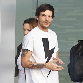 Louis Tomlinson confided in mother